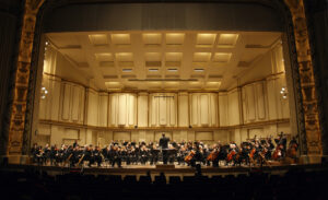 The Saint Louis Symphony Orchestra. Photo by Scott Ferguson.