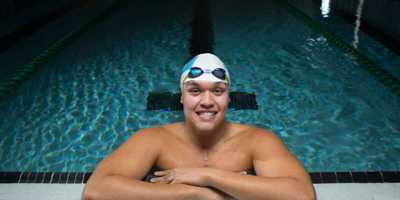 In the swim of things: Engineering student competes in Olympics