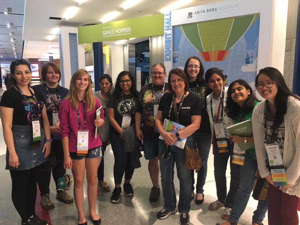 Missouri S&T took computer science and computer engineering students to the Grace Hopper computing conference in October in Houston. There they met industry leaders and networked with professionals in the field.