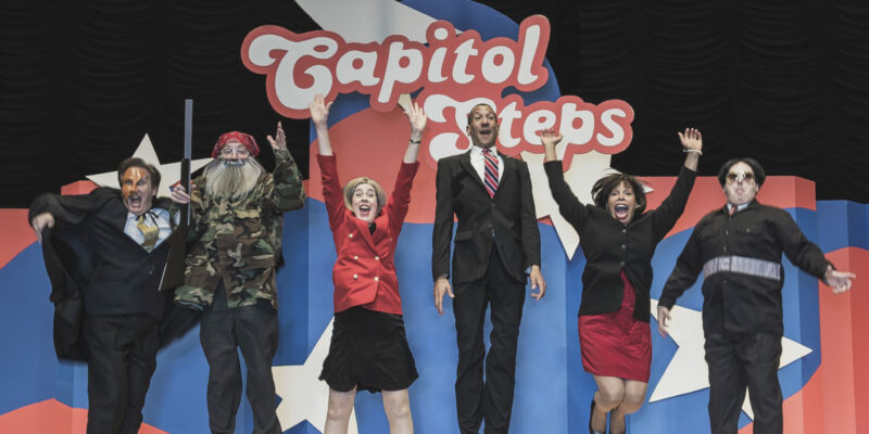 The Capitol Steps to bring musical, political comedy to Leach Theatre stage