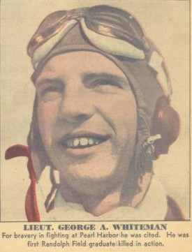 A newspaper clipping honoring Whiteman.