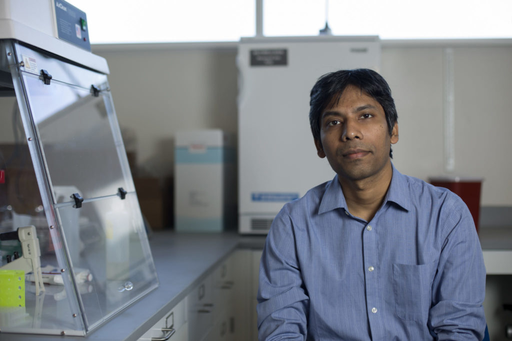 Dipak Barua is an assistant professor in chemical and biochemical engineering. Sam O'Keefe/Missouri S&T