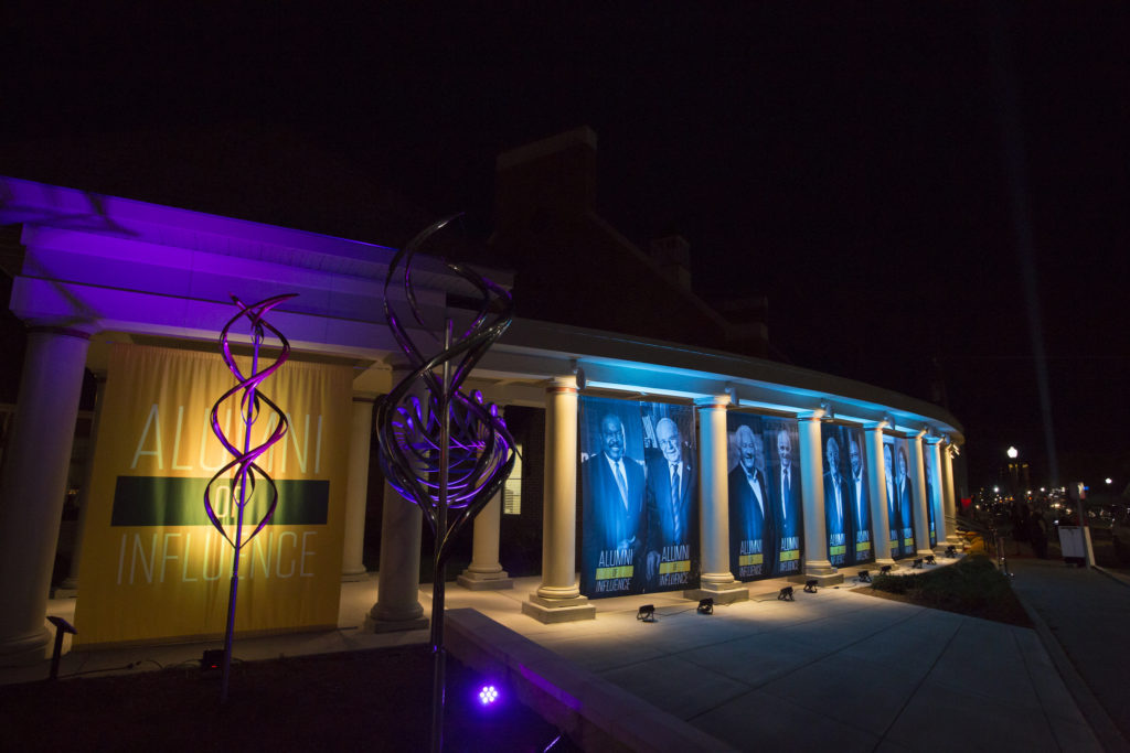 Hasselmann Hall was on display the evening of Nov. 5, 2016, for the Alumni of Influence Gala. Photo by Sam O'Keefe/Missouri S&T