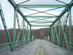 A new University Transportation Center at Missouri S&T will lead to new robotic approaches to inspect and maintain bridges. (Photo via Missouri Department of Transportation.)
