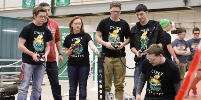 Missouri S&T to host VEX robotics championships