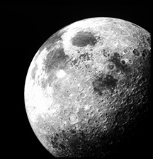 View the moon at the S&T Observatory this March