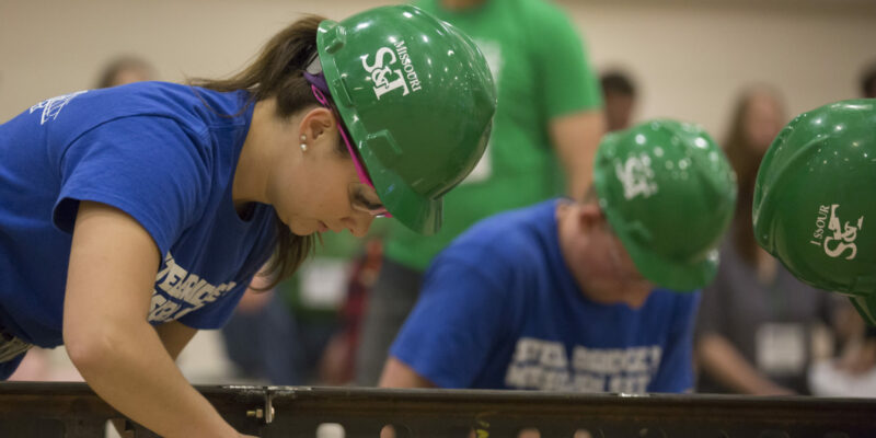 S&T's Steel Bridge team earns third at competition