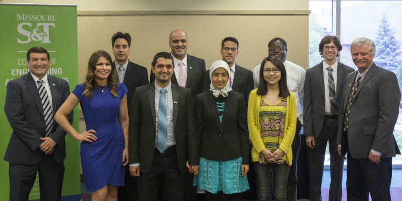 College of Engineering and Computing names 10 doctoral students as Dean's Ph.D. Scholars
