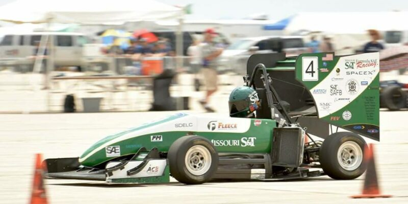 Missouri S&T Formula SAE team takes second in Nebraska race