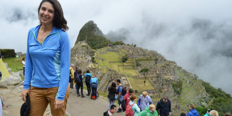 Heather Castelli: world traveler, mechanical engineer