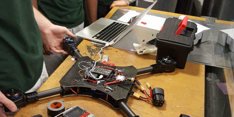 Missouri S&T aerial robotic team to race drones
