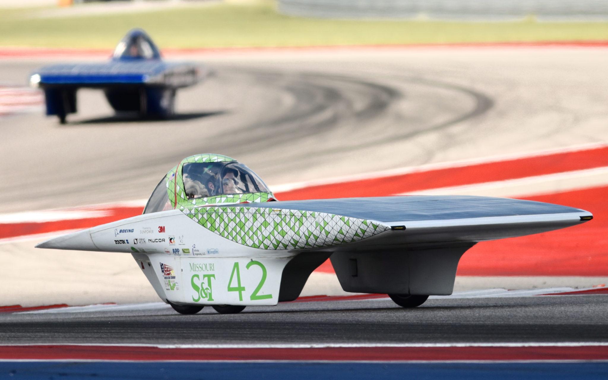Solar Car Race Texas