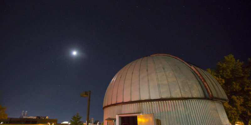 Missouri S&T Observatory to host moon viewing for November Visitors' Night