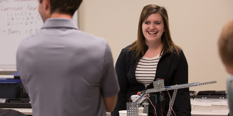 Leading the way – Becoming a first-year teacher adds up for S&T mathematics graduate