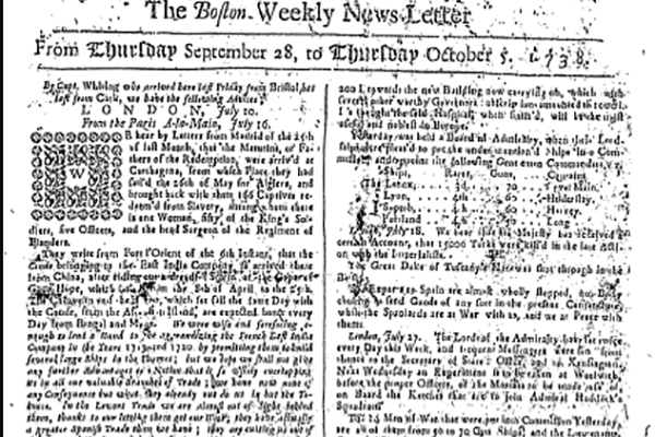 'Fake news' from 1738 offers lessons for modern historians, says Missouri S&T scholar