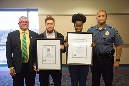 S&T students honored for bravery
