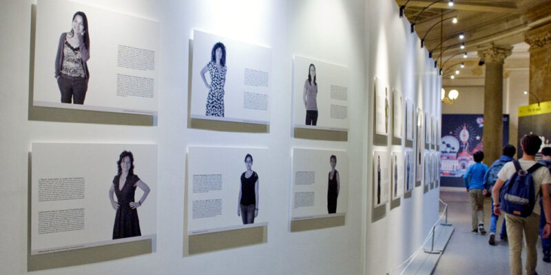 Photos of Missouri S&T faculty on display in Paris