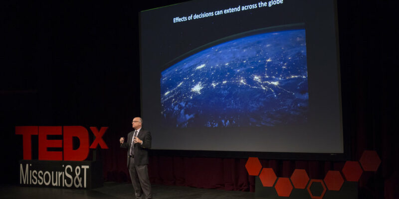 Apply to speak at Missouri S&T's third TEDx Talk