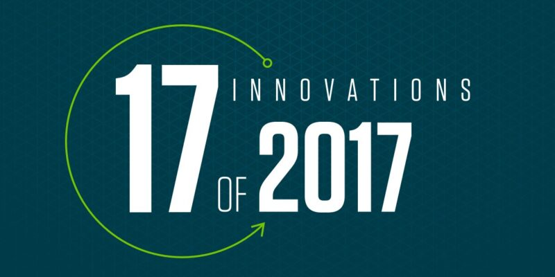 17 innovations of 2017