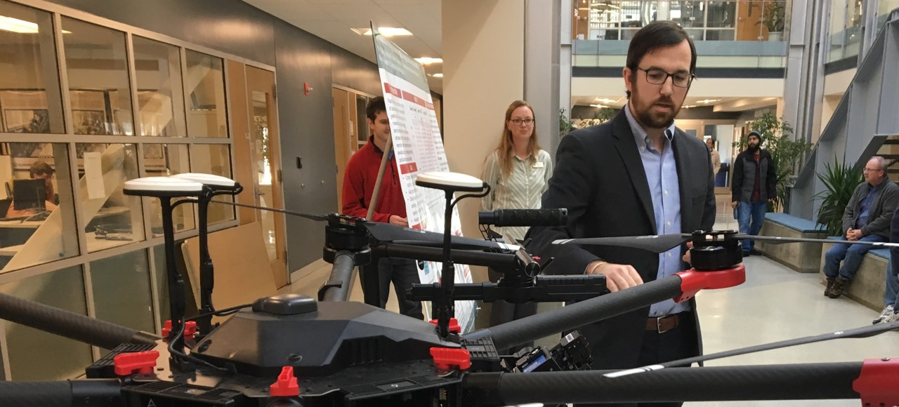 Paul Manley enlists drones to safely identify landmine locations based on changes to plant health.