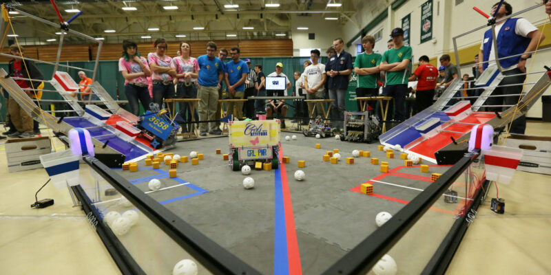 Volunteers needed for robotics competition at S&T