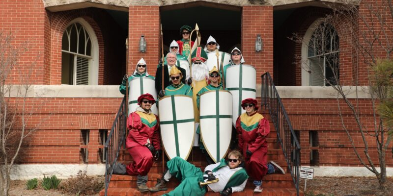 Katelyn Jones named first woman St. Pat at S&T