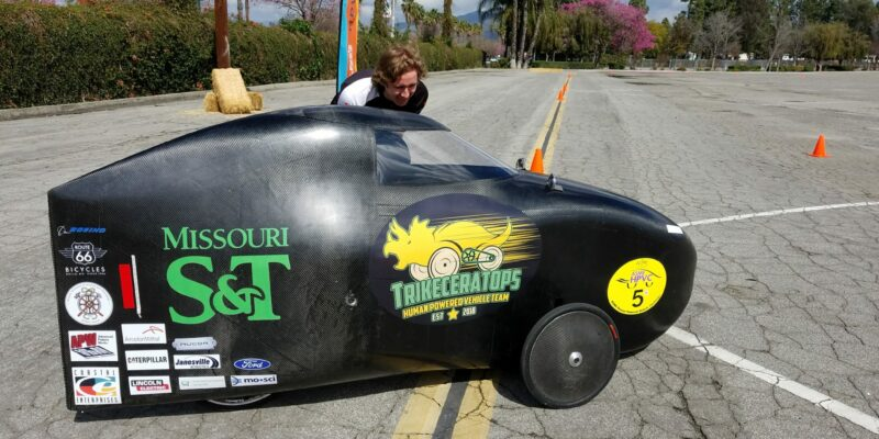 S&T's Human Powered Vehicle Team to compete in March
