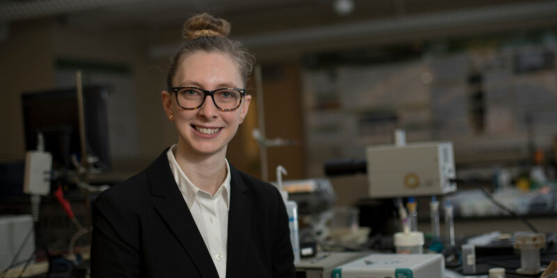 Missouri S&T doctoral student works to improve drug safety, efficacy with new chiral templates