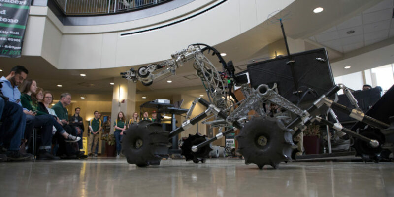 Missouri S&T Mars Rover to defend world title
