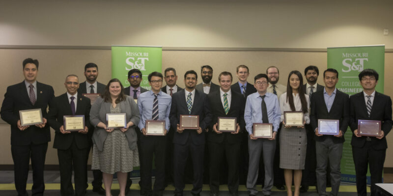 College of Engineering and Computing honors 18 graduate students