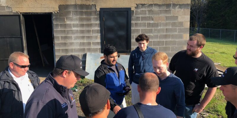 Missouri S&T students help fight fires and protect firefighters