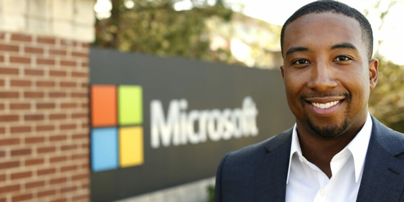 Landing a job at Microsoft
