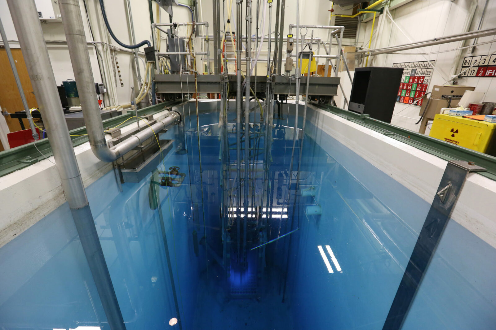 Missouri S&T Nuclear Reactor. Photo by Sam O'Keefe/Missouri S&T.