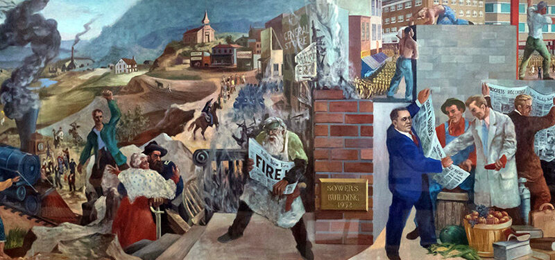 Missouri S&T dedicates Rolla mural for public display