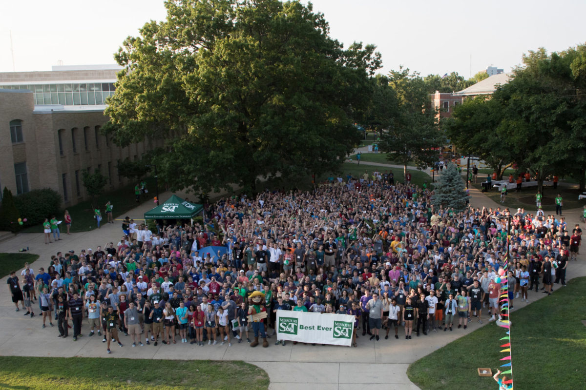 Opening Week Picnic 2018. Sam O'Keefe/Missouri S&T