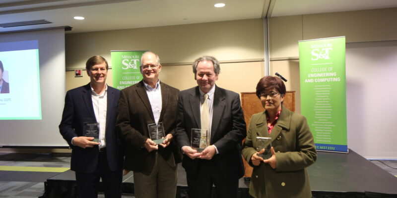 Missouri S&T honors four faculty for teaching, research excellence