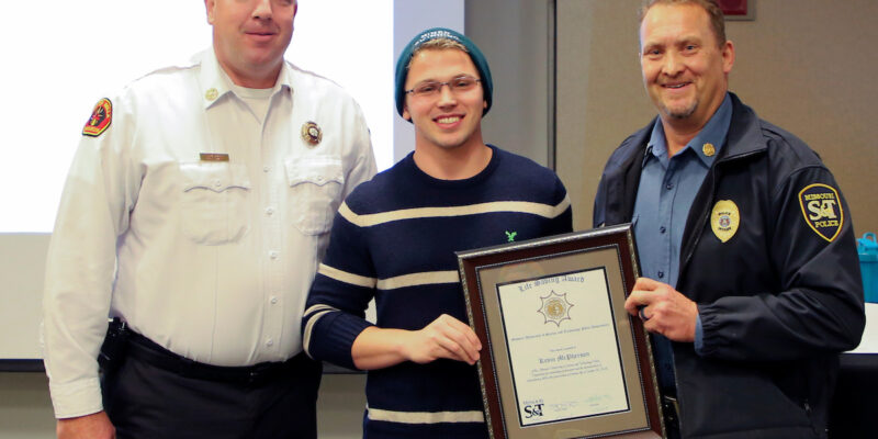 Missouri S&T honors student lifeguard with life-saving award