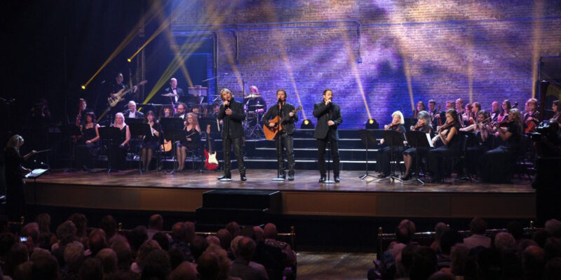The Texas Tenors holiday show comes to Leach Theatre