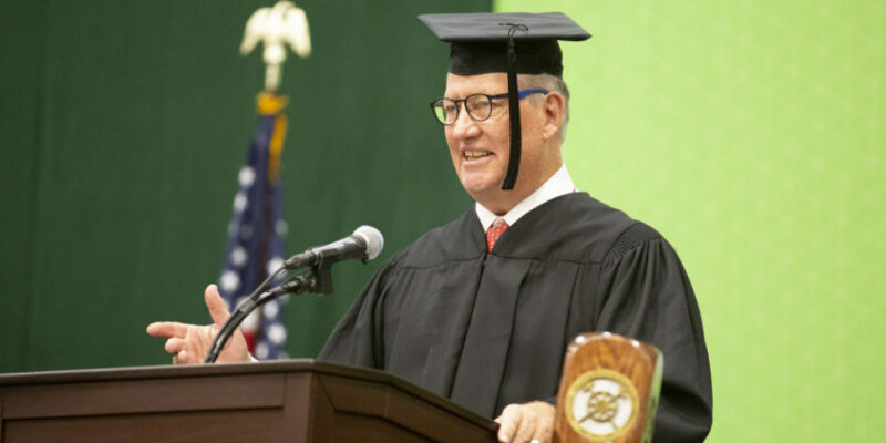 Missouri S&T commencement speaker encourages lifelong learning, collaboration