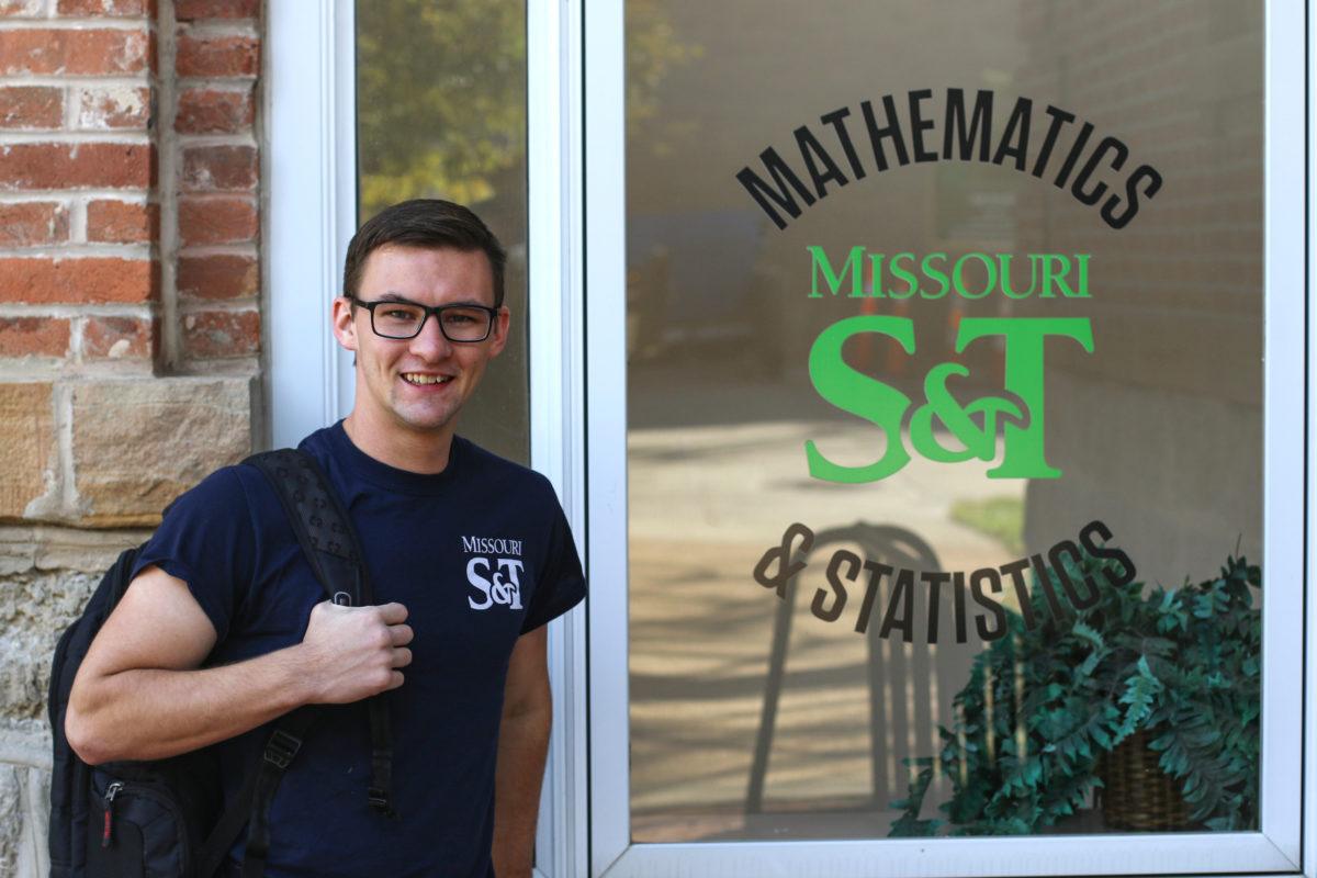 Tyler Glidden, junior in applied mathematics