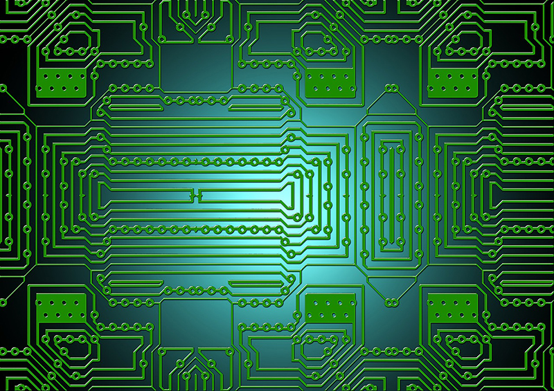 Missouri S&T researchers have developed a new approach to circuit board design that can reduce radio-frequency interference. Pixabay photo
