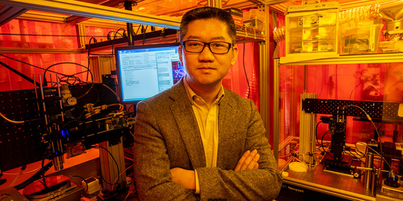 Heng Pan receives NSF CAREER award to advance nanomanufacturing research