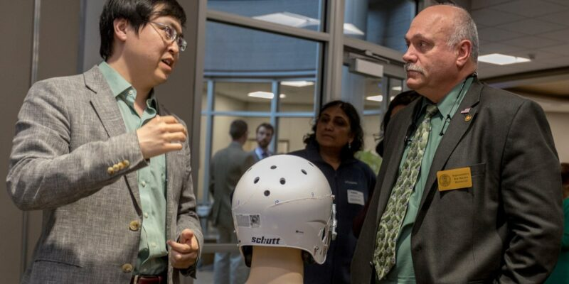 Sensor-embedded 'smart' helmets could detect TBIs