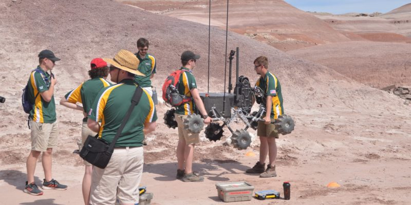 Missouri S&T Mars Rover finishes in top five in international competition
