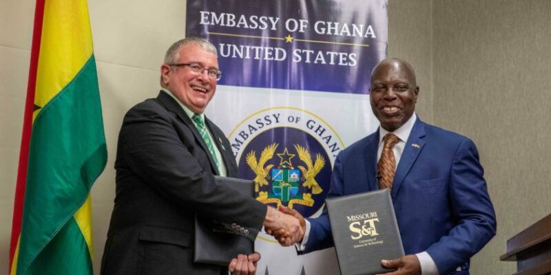 New agreement to attract students from Ghana to Missouri S&T