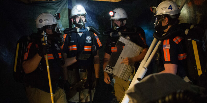 Missouri S&T to host in a mine rescue competition with teams from all over the country