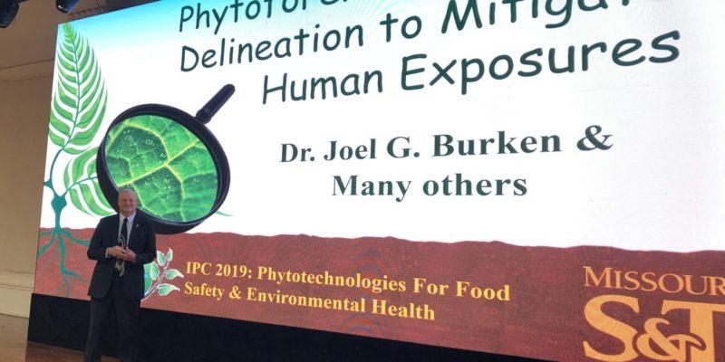 Joel Burken receives international lifetime achievement award