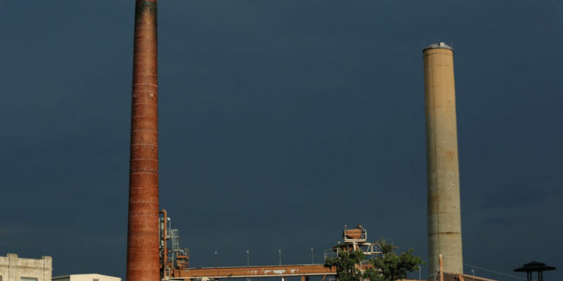 Plans underway to remove power plant chimneys