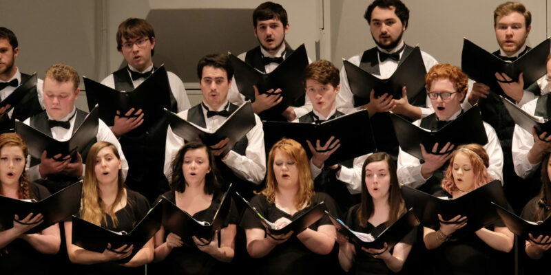 Missouri S&T choirs explore the idea 'Why Do We Sing?' in fall concert