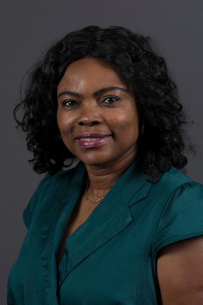 Portrait photo of Dr. Francisca Oboh-Ikuenobe